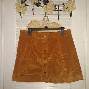 Aline suade skirt